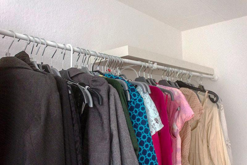 Clothing Rack IKEA Hack Ideas