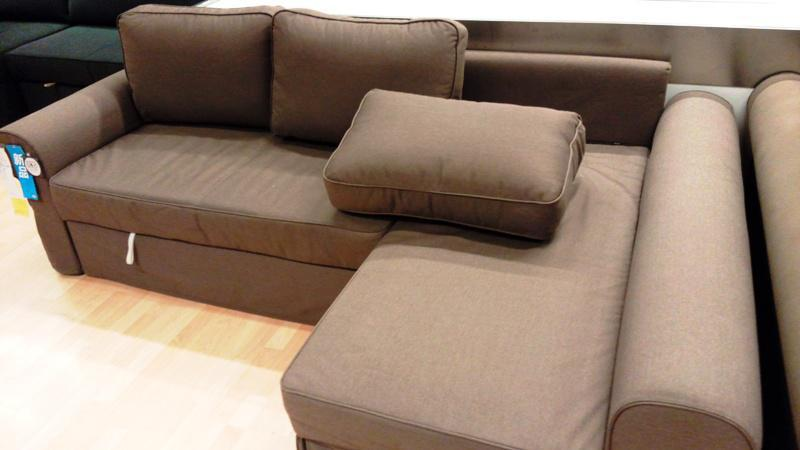 Comfortable Sleeper Sofa IKEA With Chaise