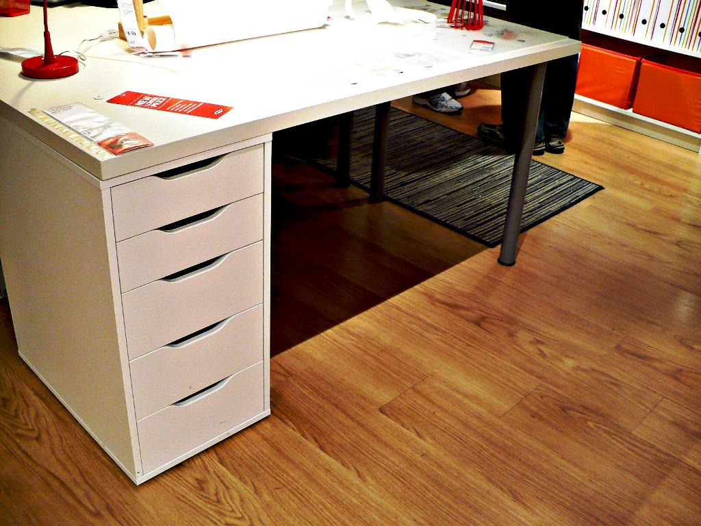 Desk With Filing Cabinet IKEA