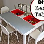 DIY Lego Table With Storage IKEA
