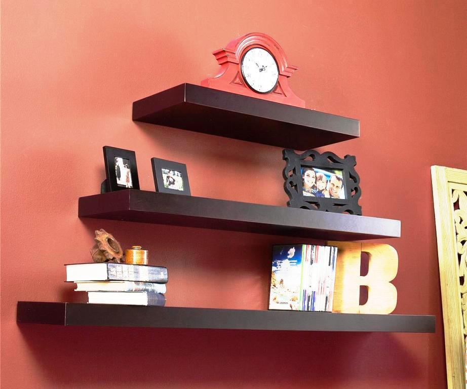 Floating IKEA Shelves