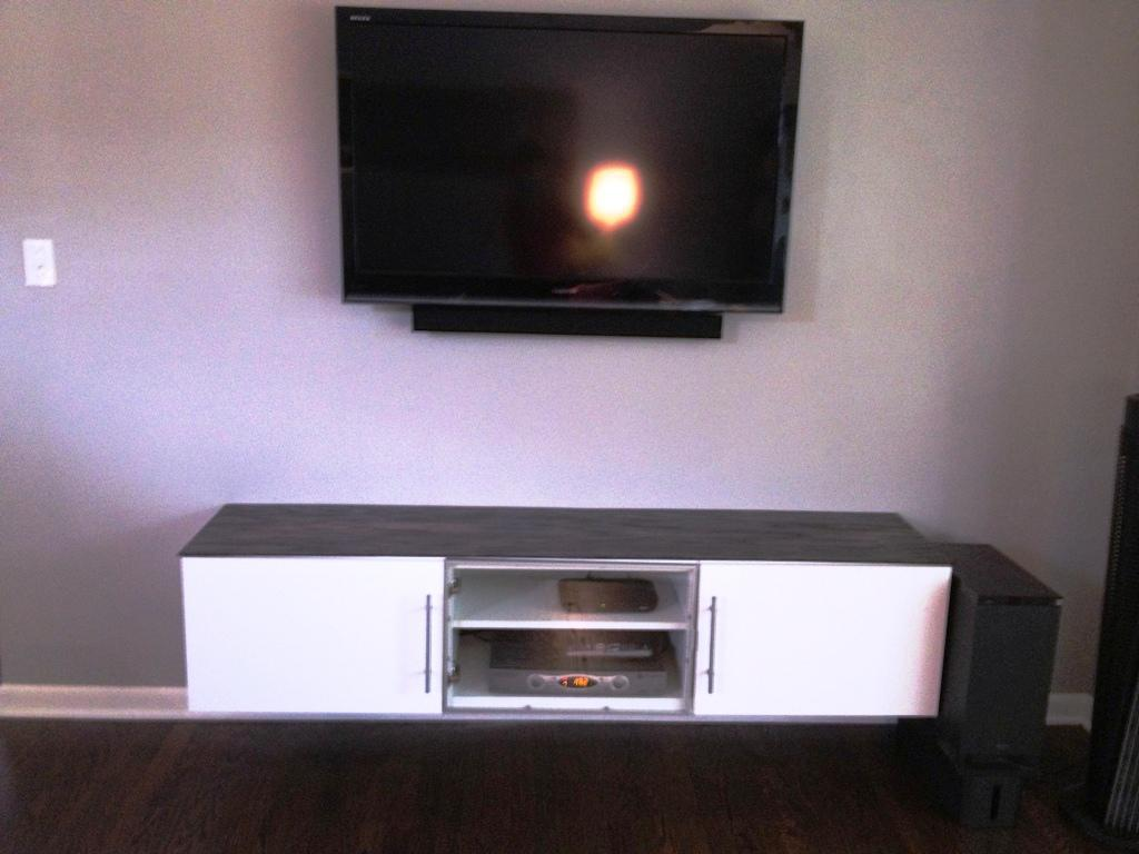 Floating TV Shelves IKEA