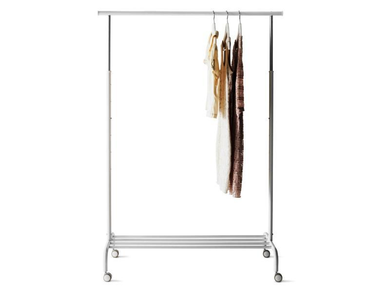 Freestanding Rolling Clothing Rack IKEA Garment
