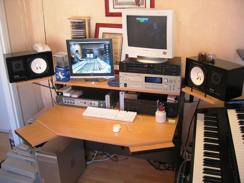 Home Recording Studio Desk IKEA