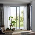 IKEA Aina Curtains Grey