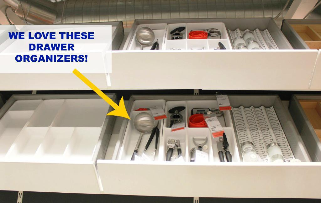 IKEA Alex Drawer Organizers