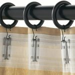 IKEA Curtain Rods PORTION Series With Clips