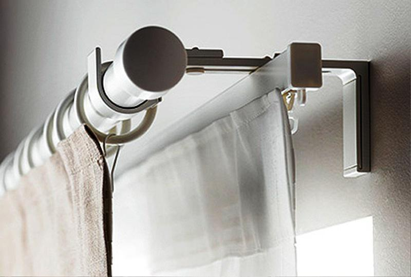 IKEA Curtain Rods RÄCKA HUGAD Series Double Rods