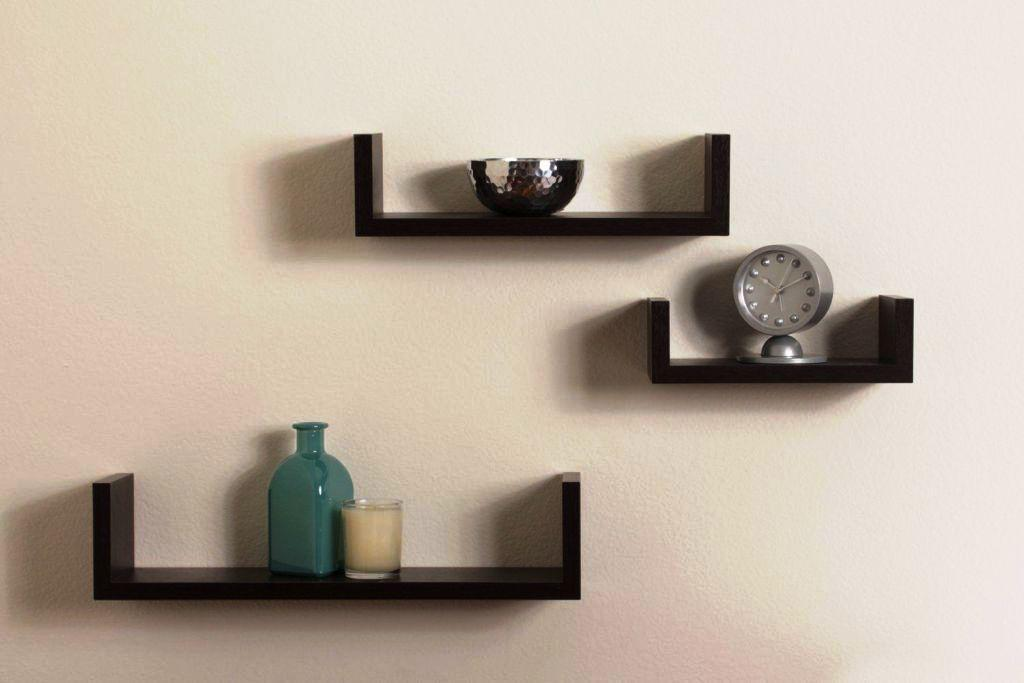 IKEA Floating Shelves Black