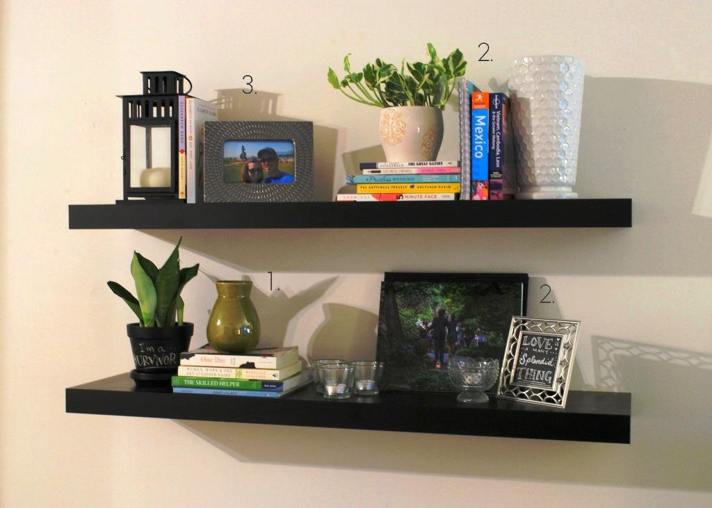 IKEA Floating Shelves Lack