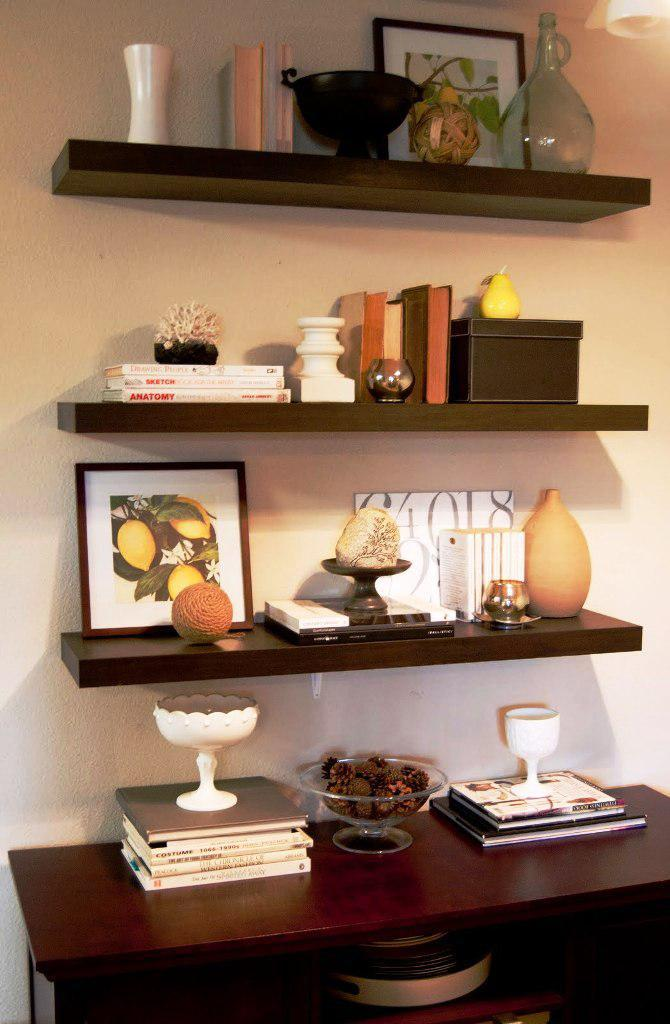 IKEA Floating Wall Shelves