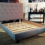 IKEA Full Bed Frame Solid Wood With Headboard