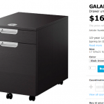 IKEA Galant File Cabinet Instructions