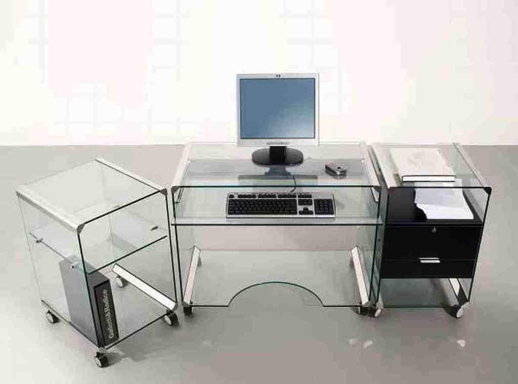 IKEA Glass Office Desk