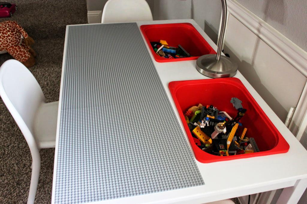 IKEA Hackers Lego Table