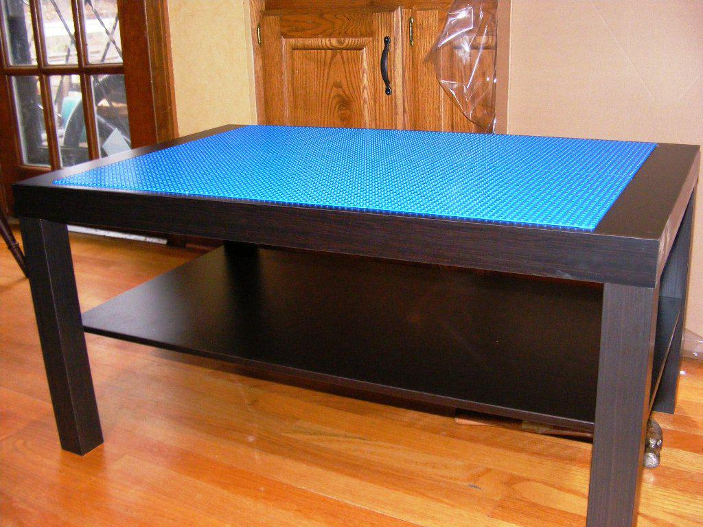 Image of: IKEA Homemade Lego Table Plans