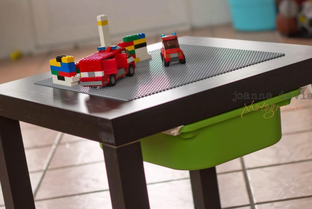 IKEA Lego Table With Bins
