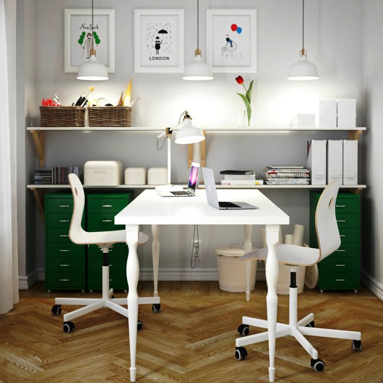 IKEA Office Desk Ideas