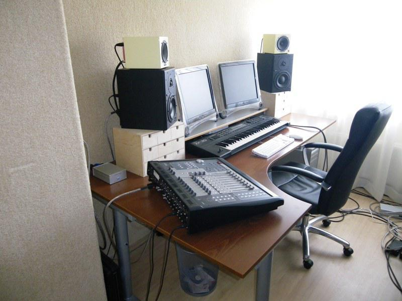 IKEA Recording Studio Desk