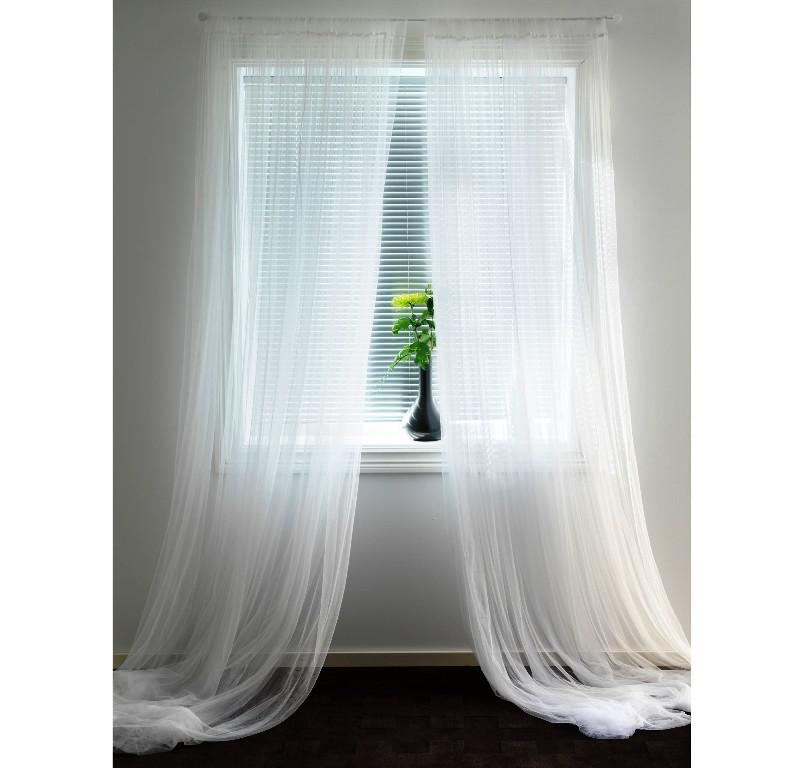 IKEA Sheer Curtain Panels