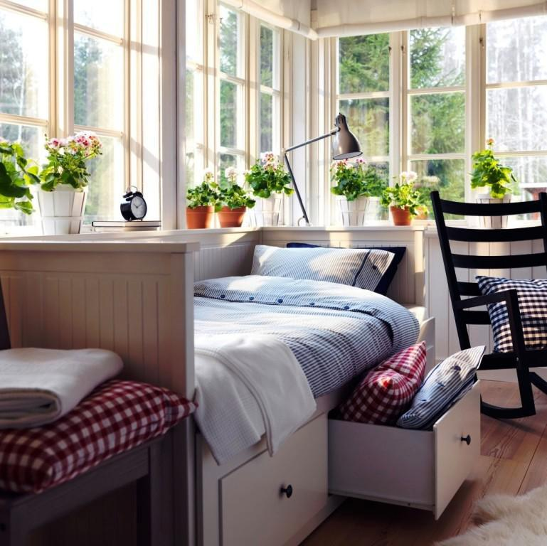 Image of: IKEA Single Day Bed