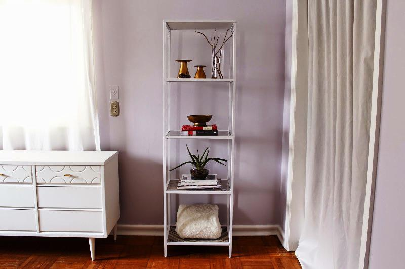 IKEA Vittsjö Shelving Unit White