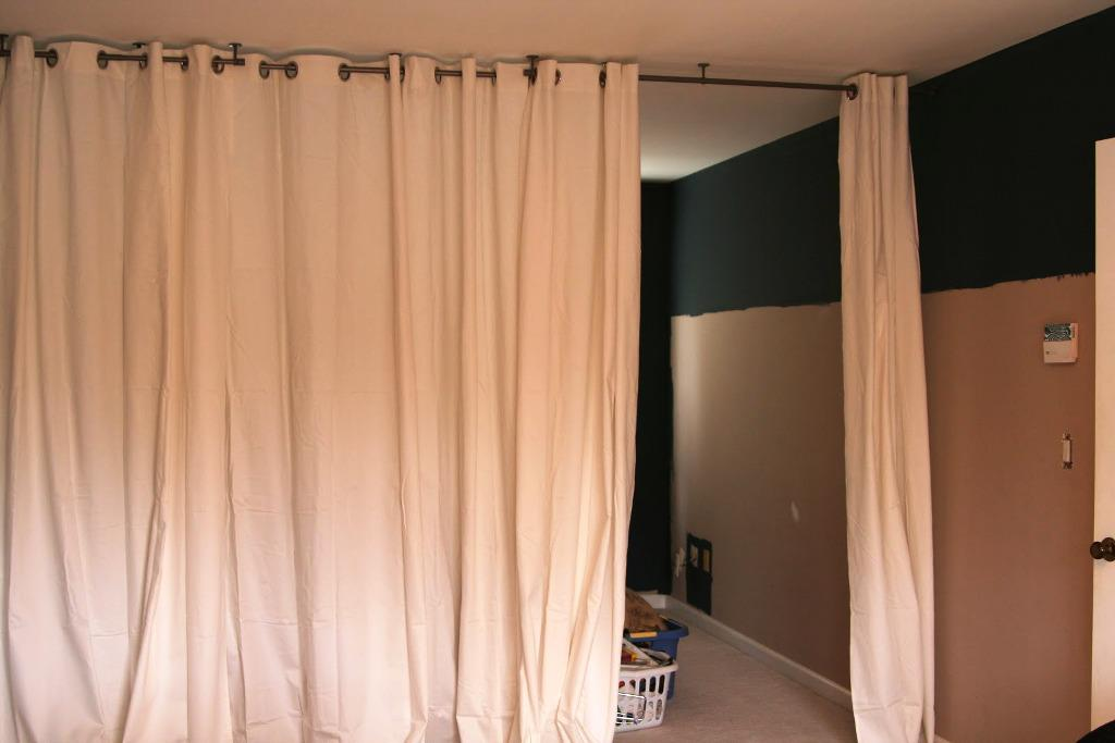 IKEA White Curtain Panels