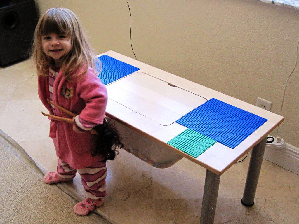 Lego IKEA Table