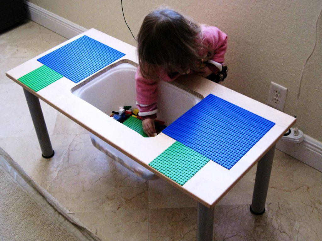 Lego Table DIY IKEA