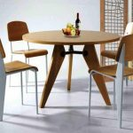 Modern IKEA Kitchen Chairs And Table Set