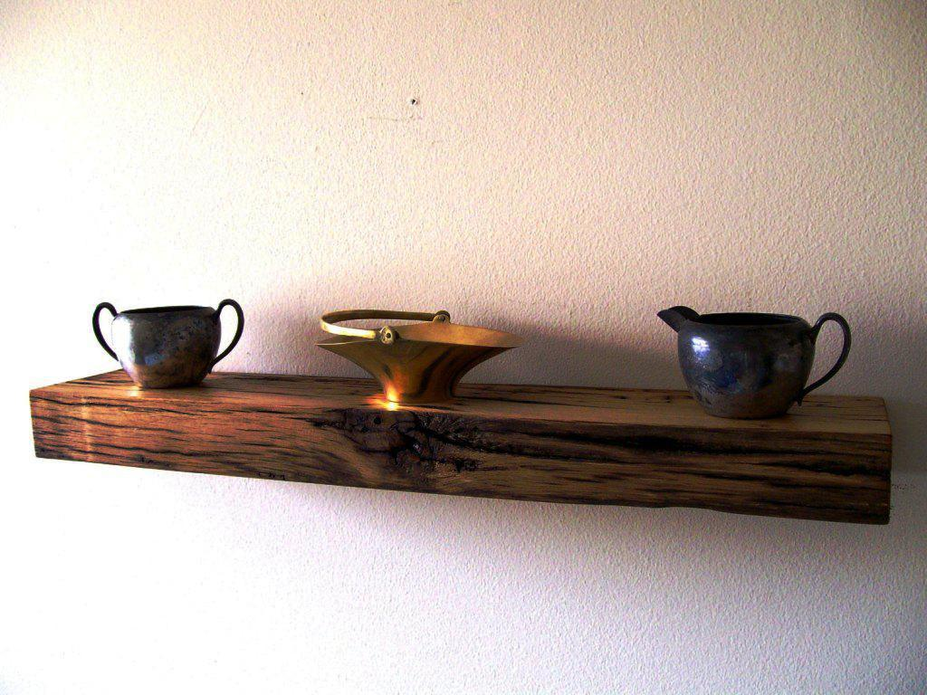 Oak Floating Shelves IKEA