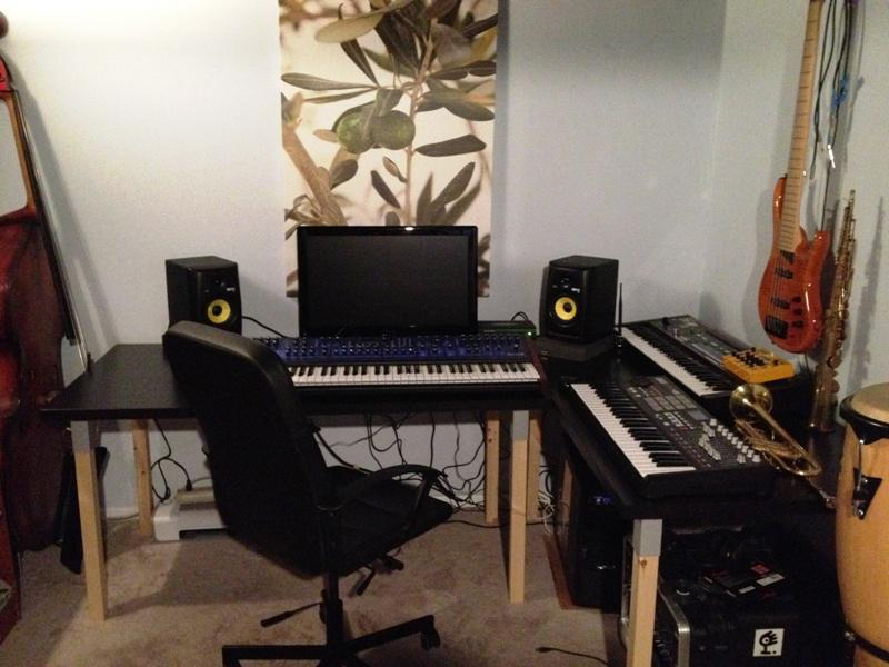 Professional Studio Desk IKEA