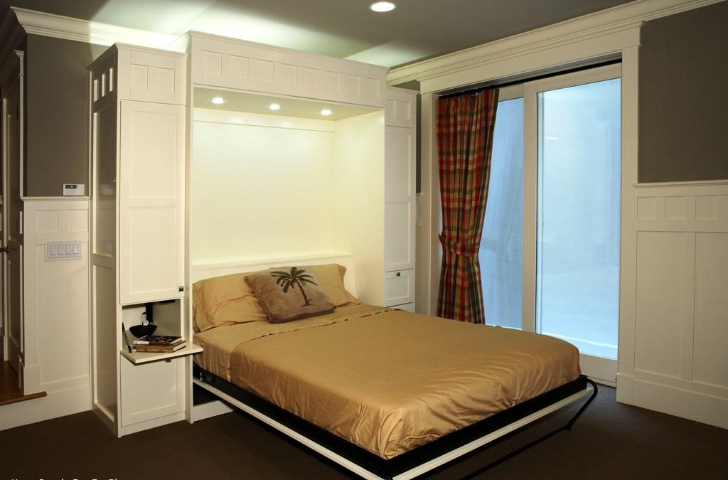 Queen Size Murphy Bed IKEA