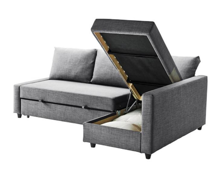 Sleeper Sofa IKEA 3 Seat With Storage Sectional