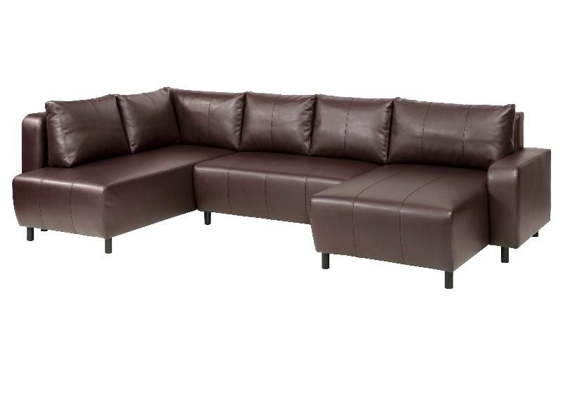 Sleeper Sofa IKEA DJURSBO Leather Sectional