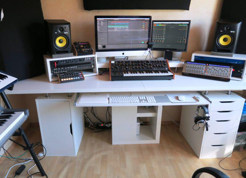 Studio Desk IKEA Cable Management