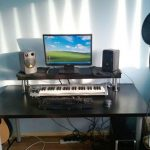 Studio Music Desk IKEA Design