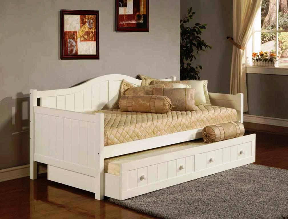 Image of: Trundle Day Beds IKEA