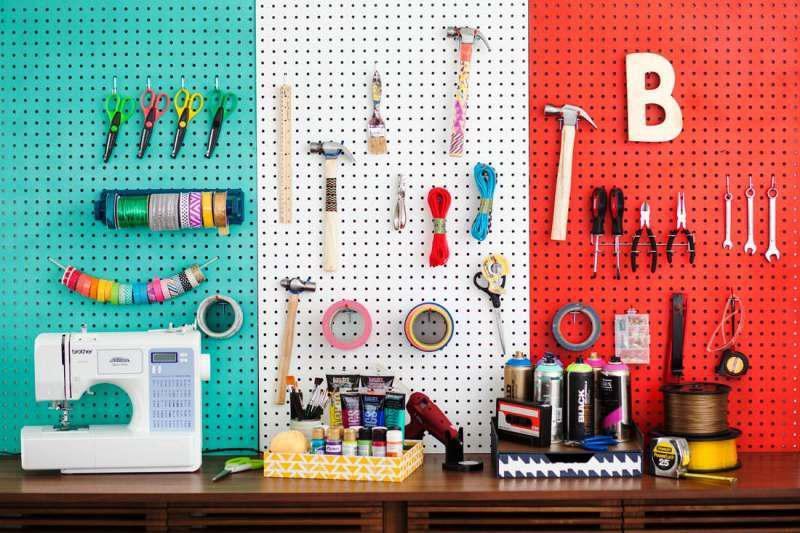 Amazing Pegboard IKEA Decor Ideas