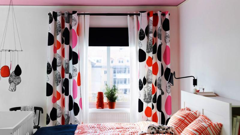 Beautiful Patterns Blackout Curtains IKEA