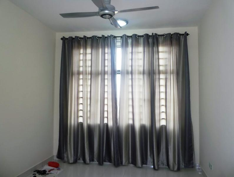 Blackout Curtains IKEA MAJGULL Grey