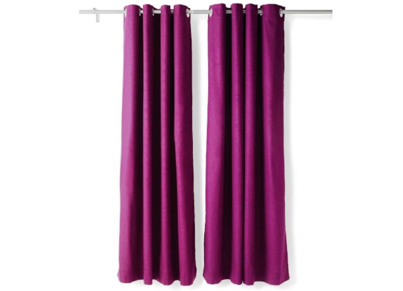 Blackout Curtains IKEA MAJGULL Lilac