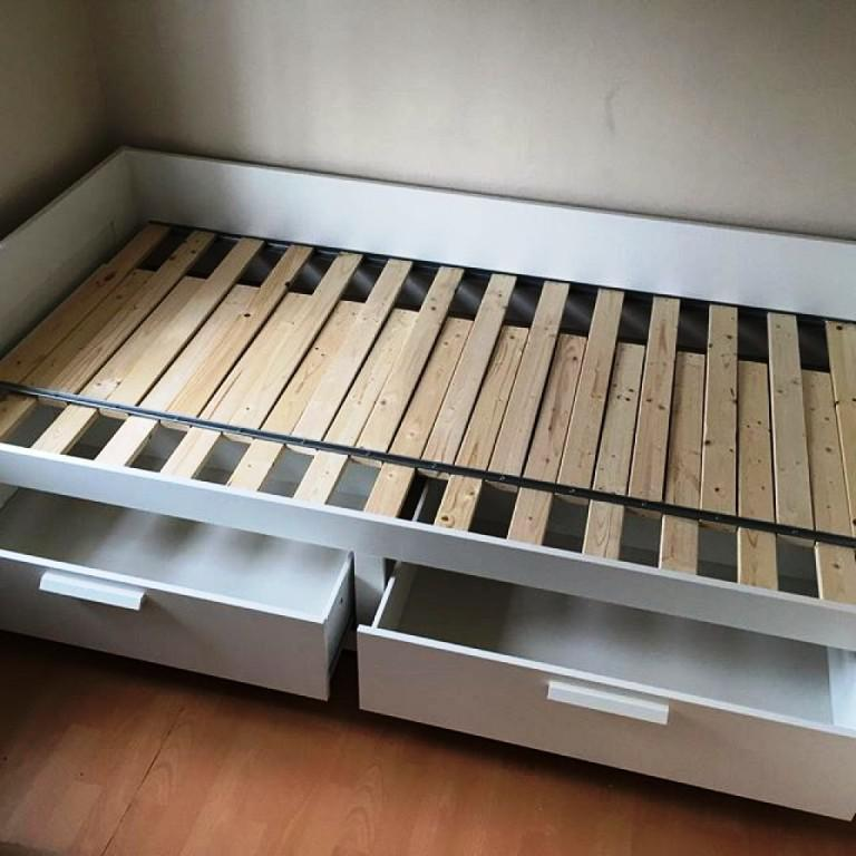 BRIMNES IKEA Bed Review