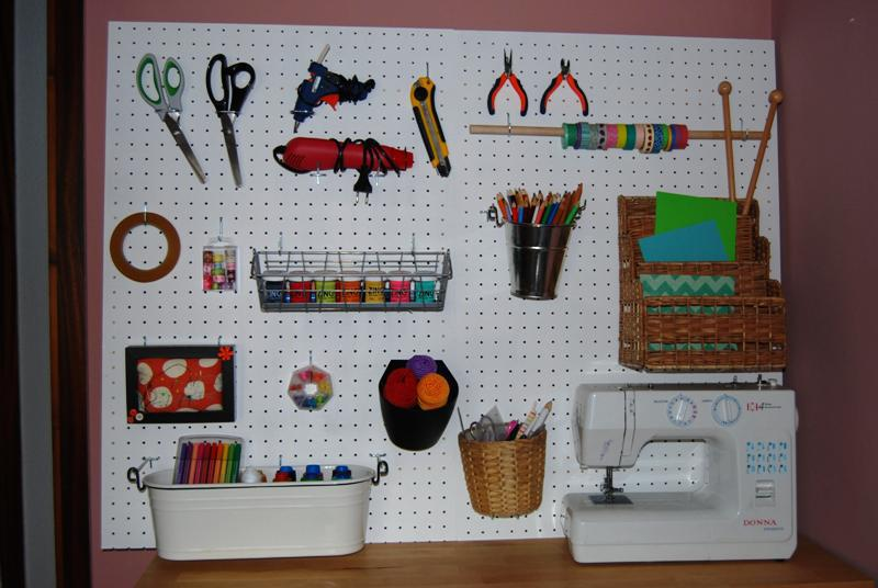 DIY Pegboard IKEA Ideas