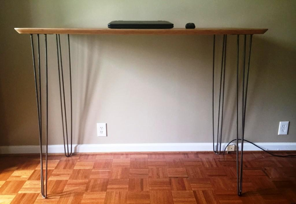 Hairpin Legs IKEA Console Table