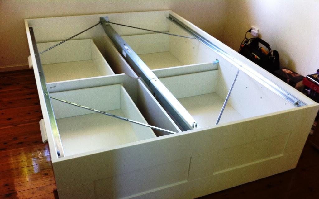 IKEA Brimnes Bed Assembly Problems
