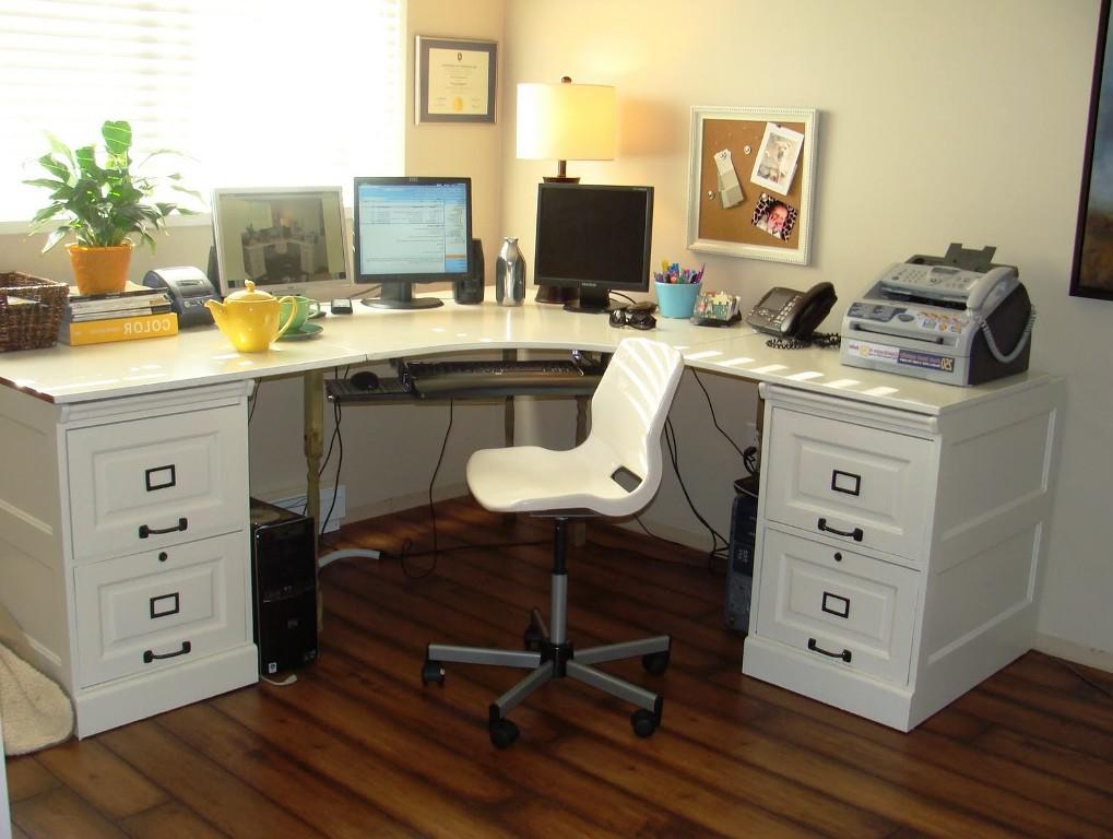 IKEA Corner Desk White