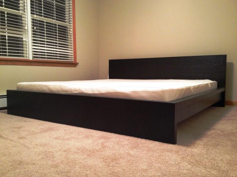 IKEA Malm Bed Low