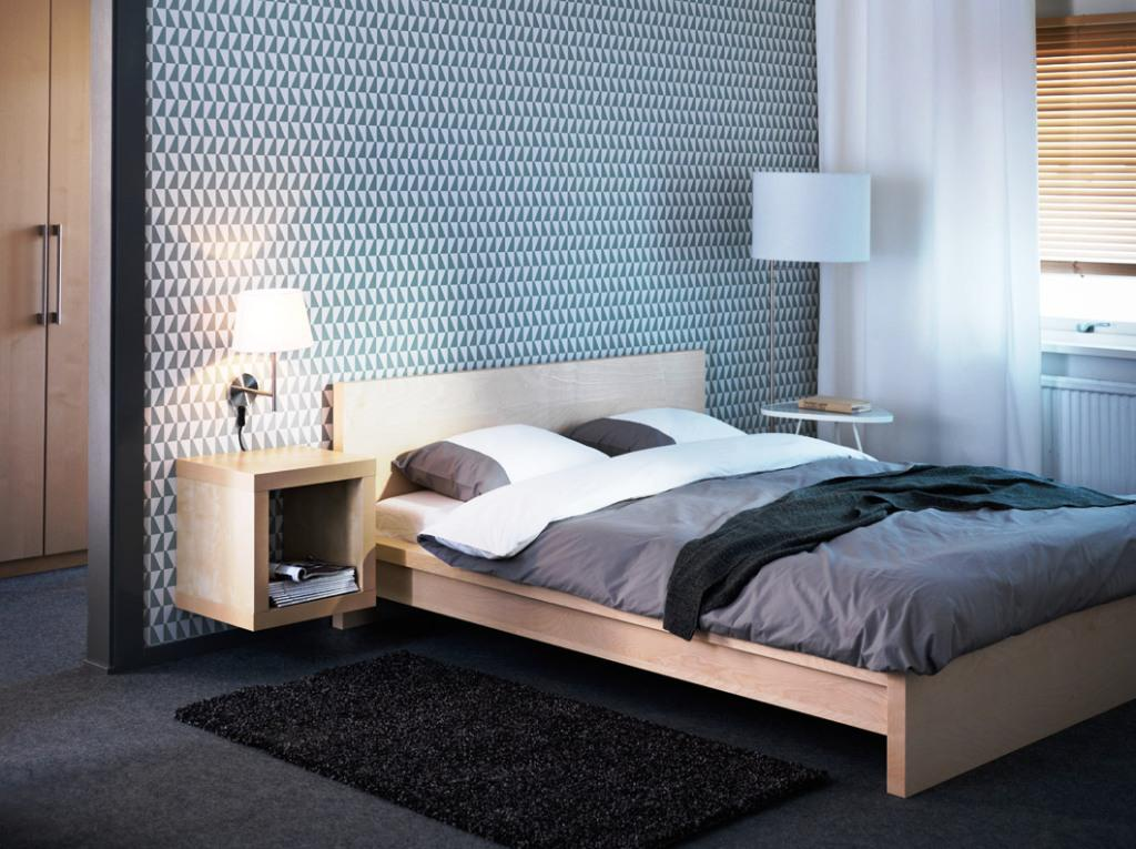 Image of: IKEA Malm Queen Bed