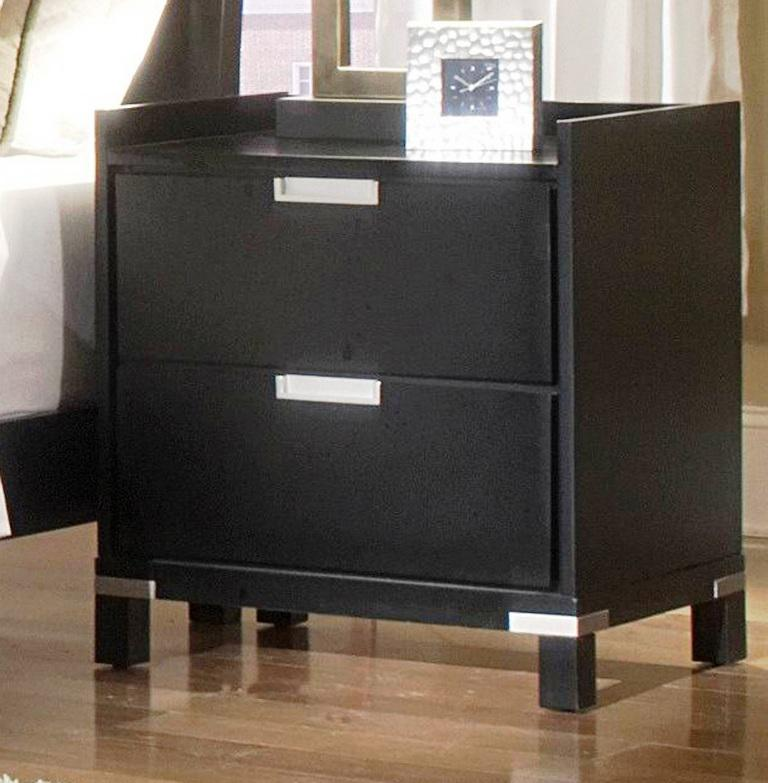 IKEA Nightstand Black